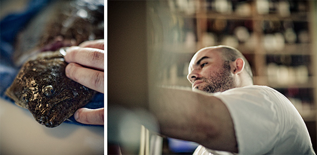 anchovies & olives-diptych